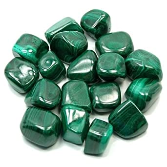 MALACHITE 1.Strand 8 Faceted Flat Tumble 25X20 To 18X15 MM Approx 100/% Natural Beautiful AAA Quality Discounted PriceNew Arrival