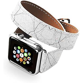 Amazon.com: GoodMood Double Wrap Apple Watch Band 38/40 42