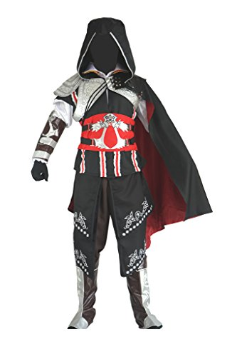 Cos2be Costume For AC Ii Ezio Auditore Cosplay Black Edition(Men-XS)