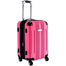 "Goplus 20"" ABS Carry On Luggage Expandable Hardside Travel Bag Trolley Suitcase GLOBALWAY"