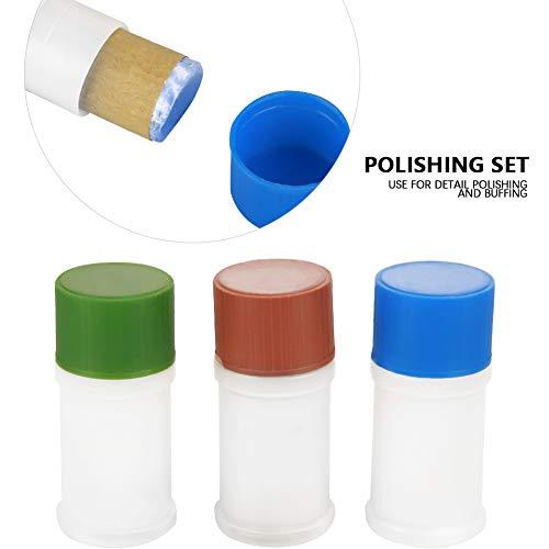 Polishing Pads Set, 7Pcs Hard Metal Scratch Removal Buffing Polishing Pads Set Polisher Tool Kit by Greensen (Image #3)