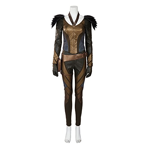 [MLYX Women's The Flash Arrow Hawkgirl Cosplay Costume Outfit Halloween Costumes (Small)] (Hawkgirl Cosplay Costume)