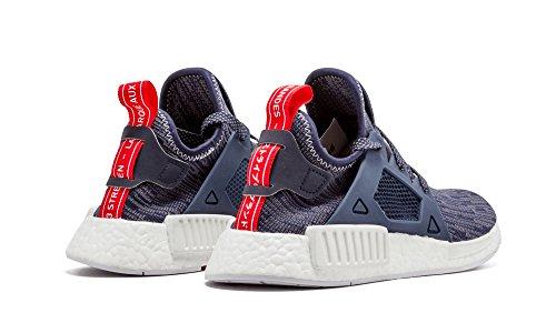 Adidas Nmd Xr1 Pk Womens Primeknit Glitch Marineblå Bb3685 Oss 8,5 Cnavy / Cred