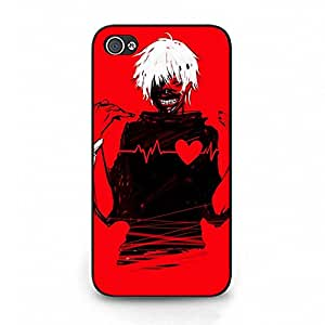 New Style Tokyo Ghoul Phone Case Cover For Iphone 4/4S Tokyo Ghoul Luxury Pattern