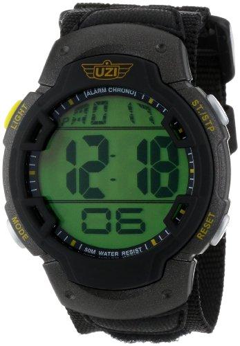 Watch Uzi Tritium - Uzi Men's Uzi-89-N The Guardian Black Nylon Strap Watch