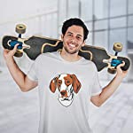 Custom Funny Graphic T Shirts for Men Ariege Pointer Head Cotton Top 13
