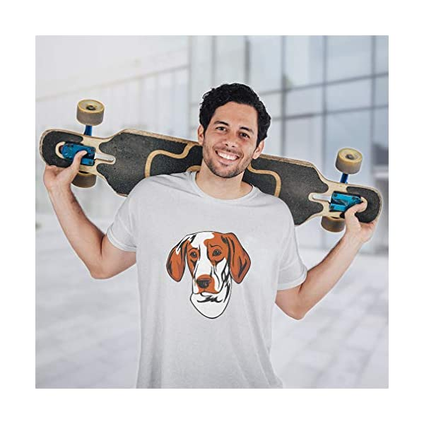 Custom Funny Graphic T Shirts for Men Ariege Pointer Head Cotton Top 6