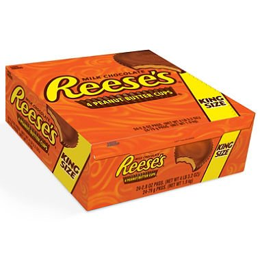 Reese's Peanut Butter Cups, King Size (2.8 oz , 24 ct.)