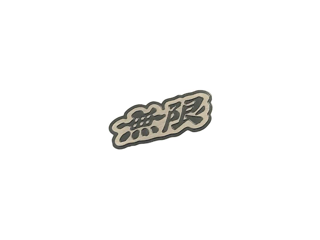 Pimall Stainless Steel Steering Wheel Mugen Sticker Vehicle-Logo Badge Emblem for Honda Available
