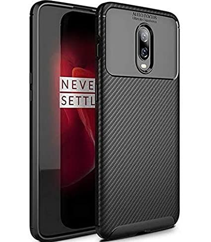 new style 77c65 66ea1 Amozo Cases and Covers for Oneplus 6T (One Plus 6T) (Carbon Textured Soft  Case)