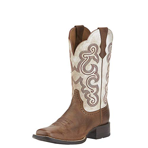 ARIAT Women's Quickdraw Western Boot Sandstorm Size 12 M Us