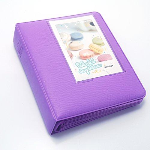 CLOVER Candy Color Mini Book Album For Fujifilm instax mini 7s 8 9 25 50s 90 Film -- Lavender