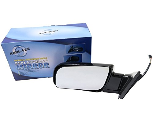 Kool Vue GM24EL Chevy C/K Standard Size Pickup Truck Driver Side Mirror, Power, Paint to Match