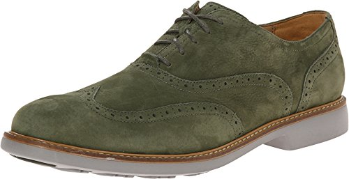 New Cole Haan Men's Great Jones Wingtip Oxfords Fatigue 9
