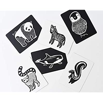 Wee Gallery, Art Cards for Baby, High Contrast, 0–12 Months - Black and White Collection: Toys & Games