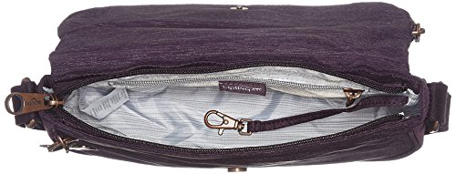 Kipling Spark X56 Aubergine Cross Womens Purple Earthbeat Bag Body S 00qR4r
