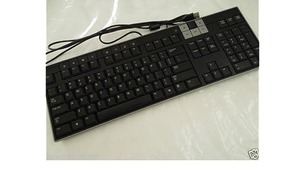 Amazon. Com: genuine dell usb black and silver slim 104-keys.