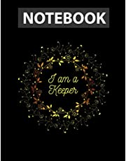 I am a Keeper of the Lost Cities / Notebook CollegeRuled Line / Large 8.5''x11''