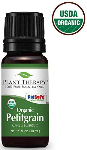 (Plant Therapy Petitgrain Organic Essential Oil 10 mL (1/3 oz) 100% Pure, Undiluted, Therapeutic Grade)