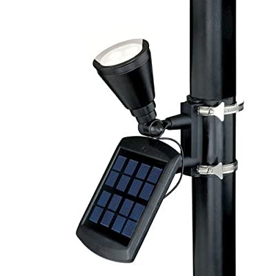 Patriot Lighting Solar Powered Flagpole Flag Light Super Bright 240 Lux by Patriot Lighting