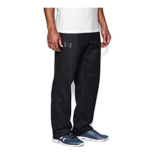 Under Armour Men's Rival Fleece Pants, Black/Graphite, X-Large