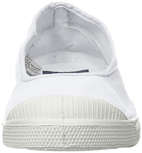 Blanc Ballerine Damen Weiß Sneaker Bensimon Tennis q4YZSw
