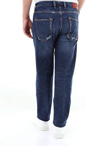 People Luxury Fashion Homme M0311A171L2706BLUE Bleu Coton Jeans | Saison Outlet