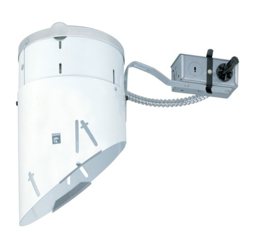 Juno Lighting TC928R 6-Inch Non-IC Rated Super Slope Incandescent Remodel Housing - Incandescent Remodel Housing