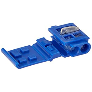3M(TM) Scotchlok(TM) Electrical IDC Connector 804-BOX, Run and Tap, Blue, 18-16 AWG solid/stranded, 14 AWG stranded, 25ct