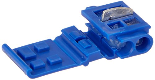- 3M(TM) Scotchlok(TM) Electrical IDC Connector 804-BOX, Run and Tap, Blue, 18-16 AWG solid/stranded, 14 AWG stranded, 25ct - 80000209652