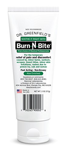 Dr Greenfield's Burn-N-Bite Topical First Aid Treatment - 2 ounces