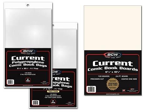 """""""MEGA DEAL"""" - BCW Current Comic Book COMBO PACK  - Comics, C"""