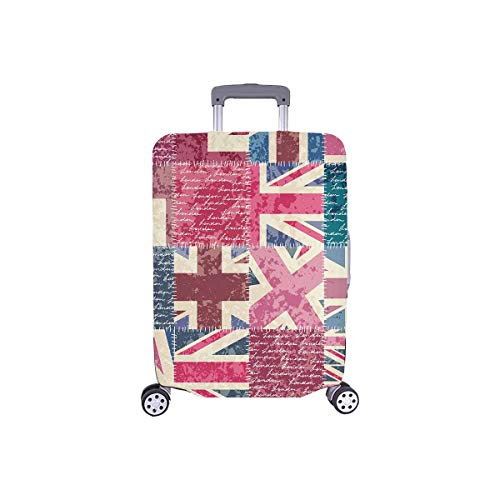 InterestPrint Retro Patchwork with London Union Flag Travel