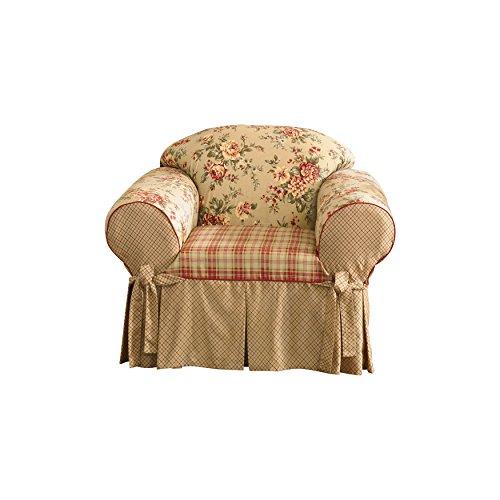 - SureFit  Lexington Relaxed Fit 1 Piece Chair Slipcover, Multi