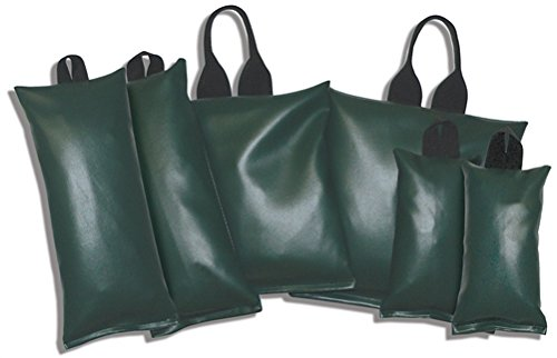 Patient Positioning Sandbags - Set of 6 Sandbags, 3-lb, 7-lb, 10-lb, Available in 6 Colors by Colortrieve (Image #1)