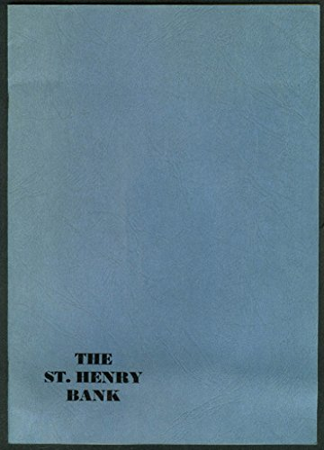 The St Henry Bank Our Bank Today Open House brochure 1973 Ohio