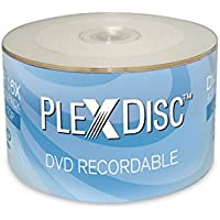 50-Pack PlexDisc 632-810 4.7GB 16X DVD+R Disc Spindle