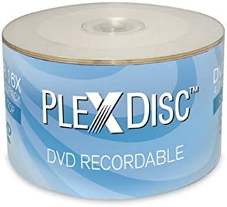 50-Pack PlexDisc 632-810 4.7GB DVD+R Spindle