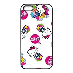 iPhone 5 5s Cell Phone Case Black Hello Kitty Expressions Qwgns