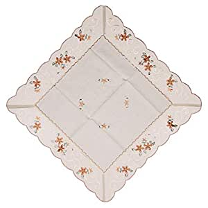 Linen Coffee Table Mat - Off White