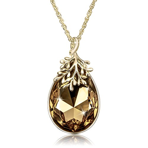Swarovski Crystal Gold Plated Pendant - 1