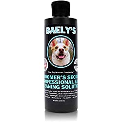 Baely's | Natural Alcohol-Free Dog Ear Cleaner - Safe for Cats | Fragrance-Free & Gentle for Pain-Free Cleaning | Good Ear Hygiene Prevents Yeast, Fungus & Odor - Prevent Ear Infections, Wax & Itching