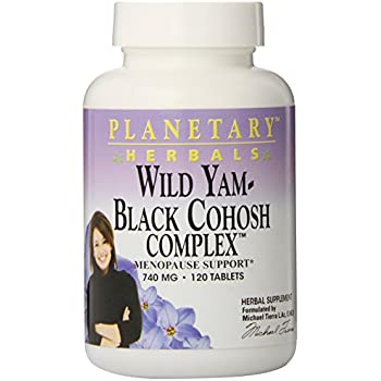 Amazon Com Planetary Herbals Wild Yam Black Cohosh Complex 800