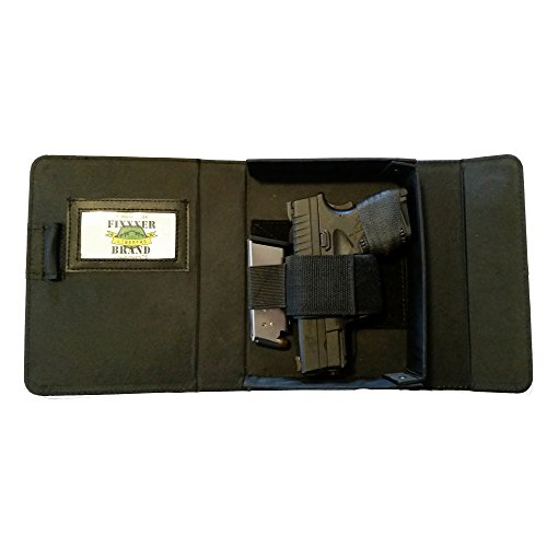 Fixxxer Original Notebook/Day Planner Conceal Carry Gun Case Holster, Black