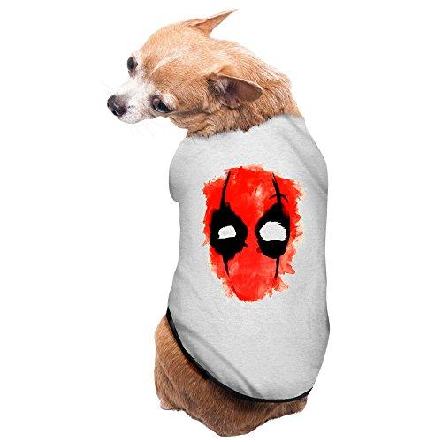 Natural Born Killer Costume (Gray Deadpool New Mutants X Men Ryan Reynolds Pet Supplies Dogs Apparel Pet Costumes For Dogs)