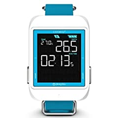 The COSMIQ+ (All Black color)offers multiple function modes including Scuba, Freediving and Watch mode. It also provides an advanced bottom timer function and at the push of a button, you can sync with the Deepblu app, allowing you to effortl...