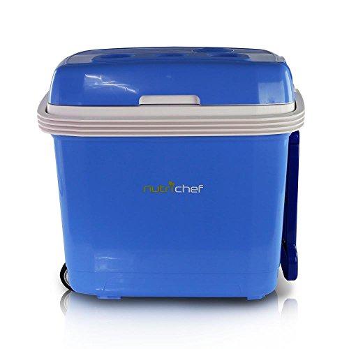 portable electric cooler fridge food