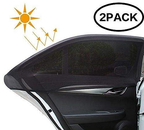 2Pcs Pare-Soleil Fenêtres de Voiture EXTSUD Rideau de Vitres Latérales Auto  Protection UV Maximale. Cliquez pour ouvrir le point de vue élargi 19171c4802c7