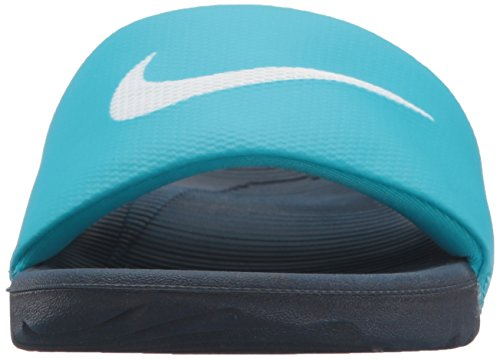 Chlorine Nike Slide Kawa and Blue Beach Pool Shoes White Obsidian Women's White ww8Erg