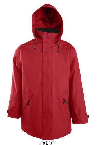 SOL´S - Parka River 3XL,Red